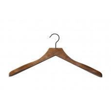 Dark Wood Sustainable Jacket Coat Hanger