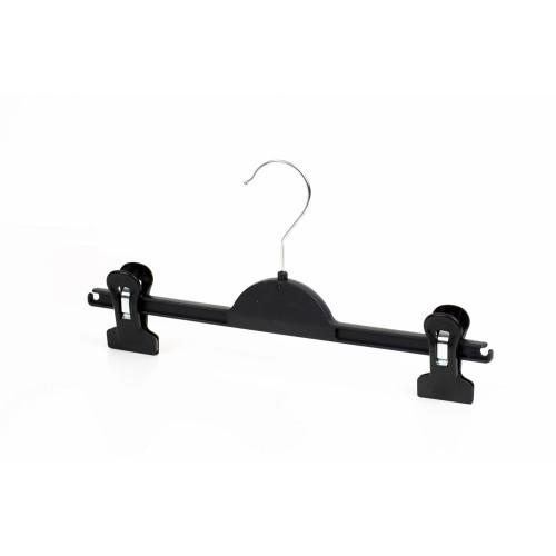 Kids Durable Black Plastic Clip Hanger