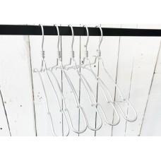 Natural Aluminium Top Notch Coat Hanger