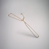 Rose Gold Aluminium Top Coat Hanger