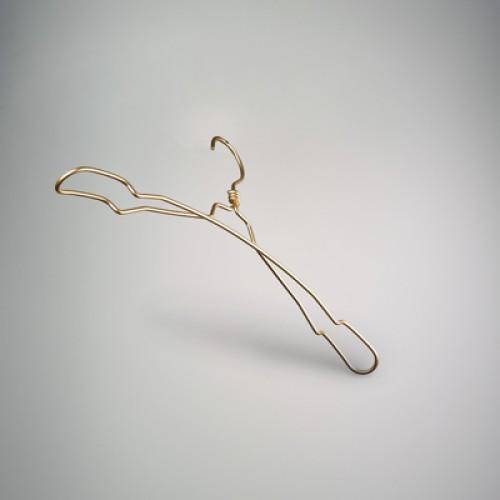 Rose Gold Aluminium Top Coat Notch Hanger