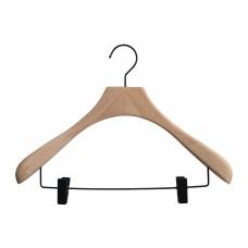 Luxury Natural Wooden Jacket Suit Hanger