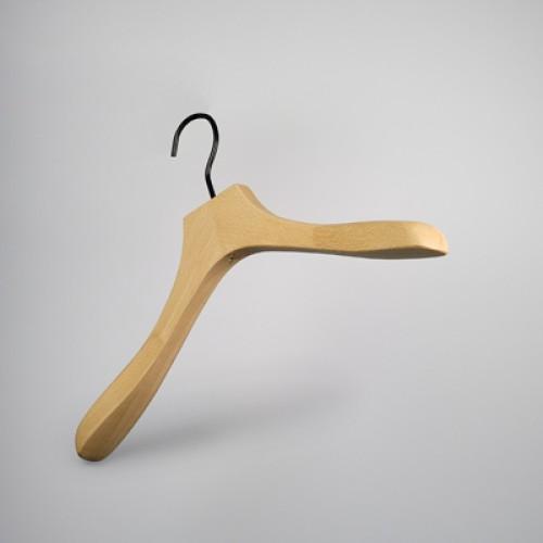 Luxury Natural Wooden Top Jacket Hanger