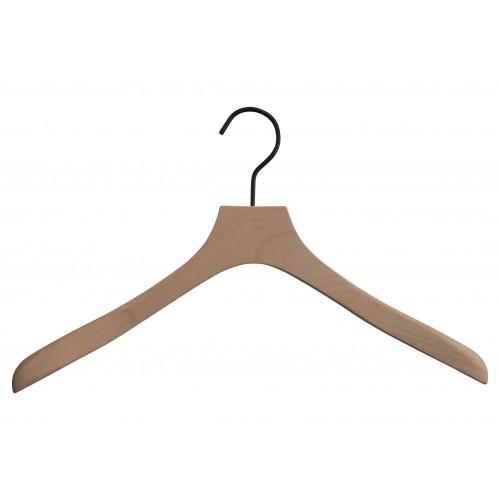 Premium Natural Wooden Top Jacket Hanger