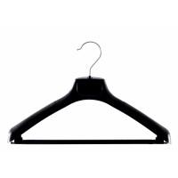 Black Plastic 45cm Jacket Suit Hanger