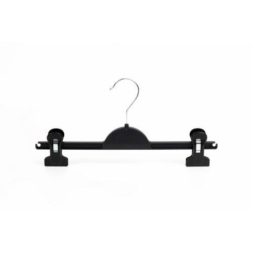 Durable Black 36cm Plastic Clip Hanger
