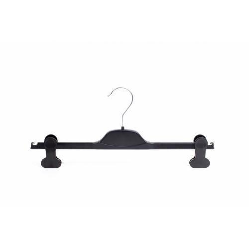 Luxury Black Plastic 38cm Clip Hanger