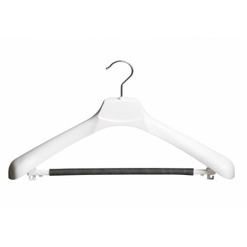 White Plastic Suit Jacket Hanger 45cm