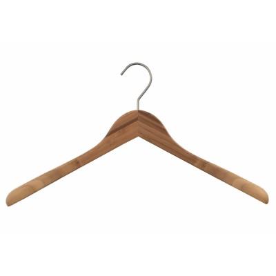 Bamboo Wood Sustainable Top Jacket Hanger