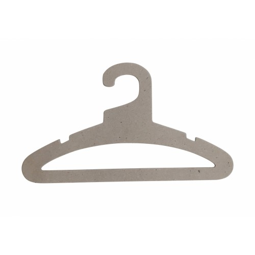 Recycled Card Top Suit and Bar Hanger 43cm