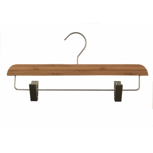 Bamboo Wood Sustainable Clip Bottom Hanger
